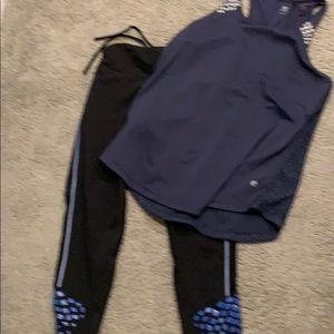 Champion large shirt medium pants